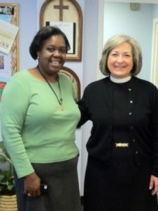 Mia McDowell, one of our current seminarians, who benefits from your donations to the DSBF.