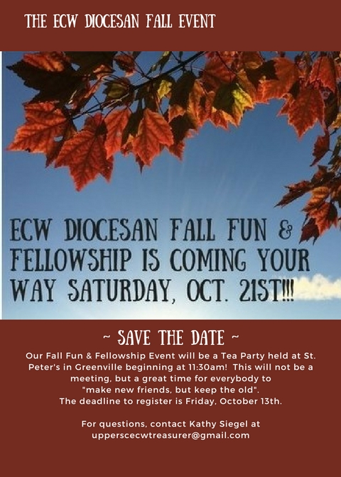 ECW Diocesan Fall Event_ Foothills Convocation Update